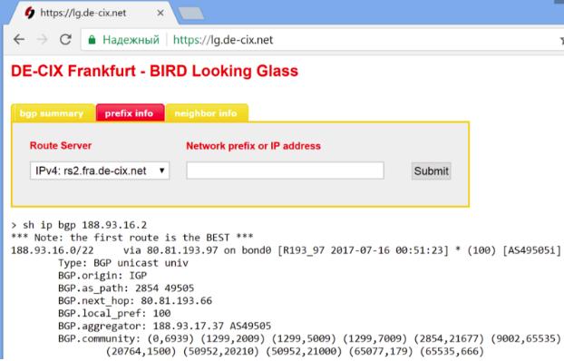 Selectel IPv4 prefix route leaking - 11