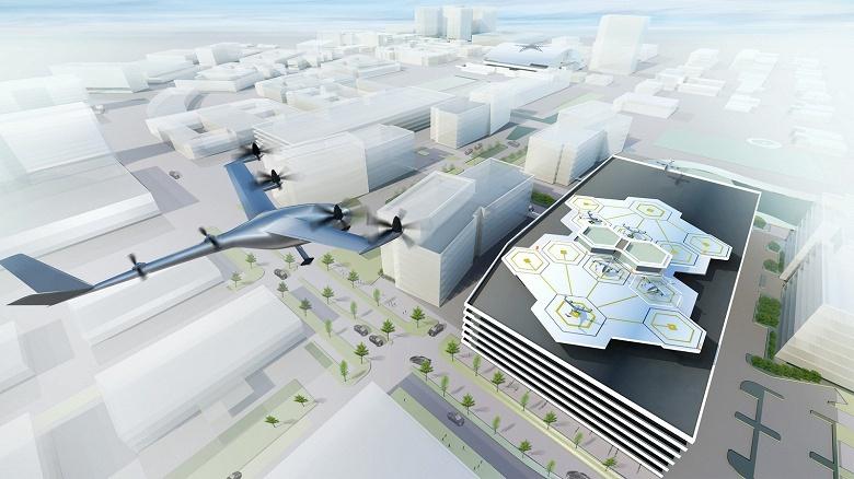 Центр разработки летающих такси Uber откроется в Париже