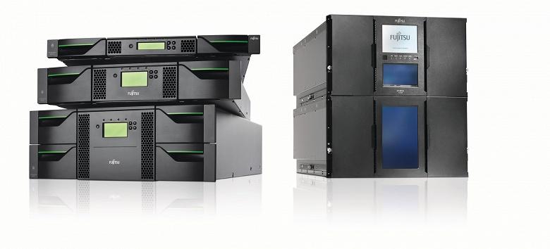 Поддержка LTO 8 появилась в СХД Fujitsu Eternus LT