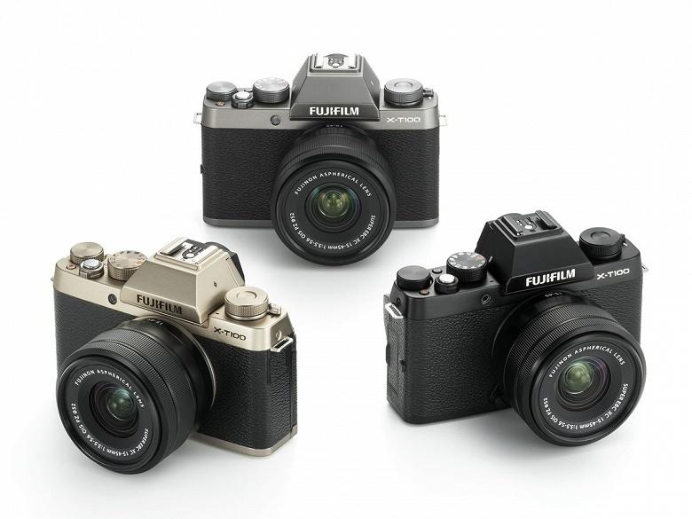 Представлена камера Fujifilm X-T100 - 3