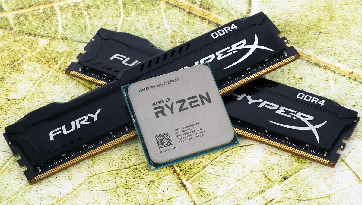 Обзор процессора Ryzen 7 2700X. Раскрываем потенциал флагманского 8-ядерника AMD при помощи памяти Kingston HyperX - 1