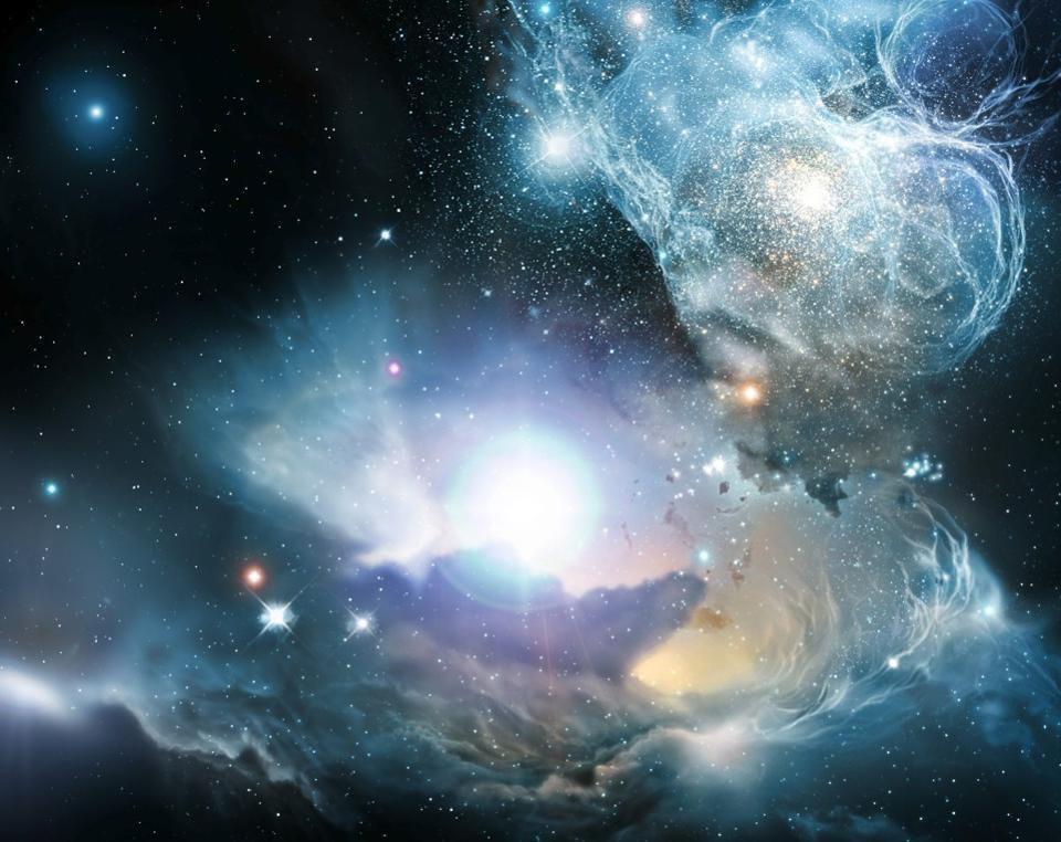 Астрономы подтвердили обнаружение второй по удалённости от нас галактики - 4