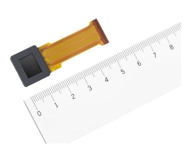 Sony представила микродисплей OLED с рекордно малым шагом пикселей