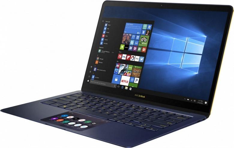 Asus планирует оснастить ноутбуки с Windows 10 аналогом MacBook Pro Touch Bar