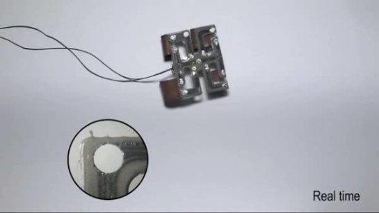 Исследователи создают самовосстанавливающуюся «кожу робота»