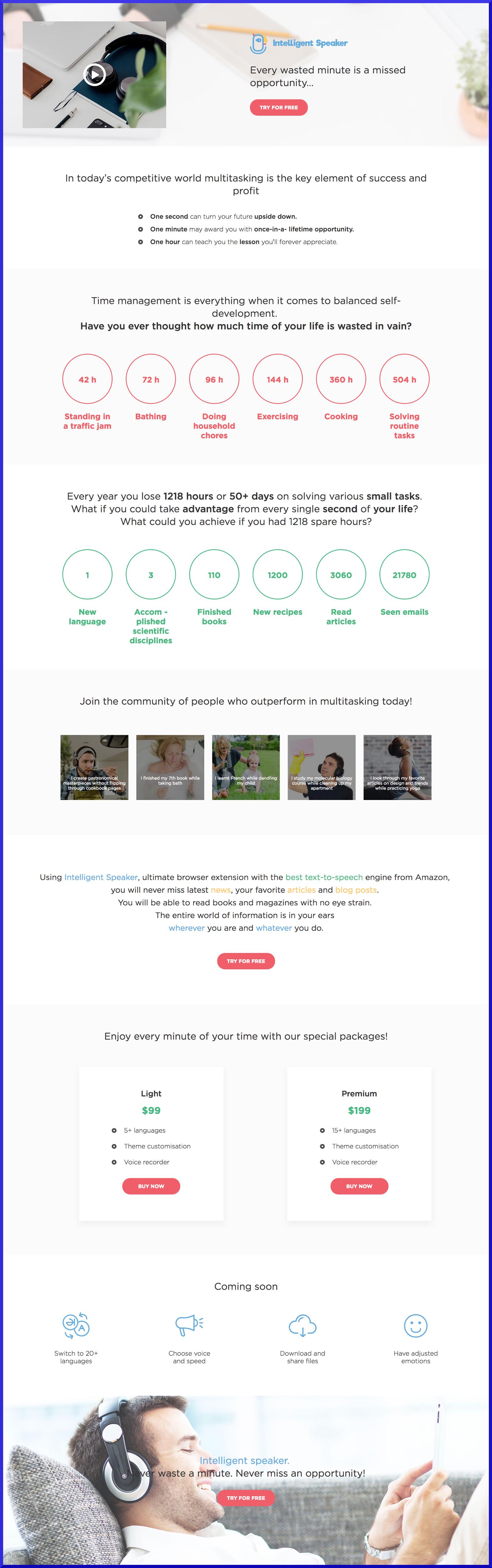 intelligent speaker first site