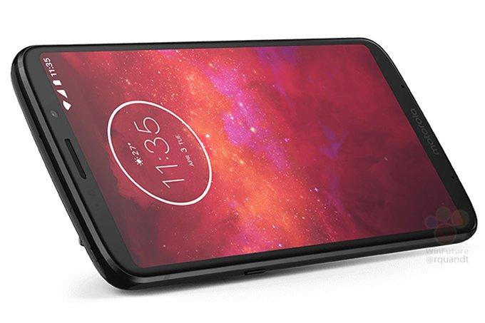 Опубликованы качественные официальные изображения смартфона Moto Z3 Play