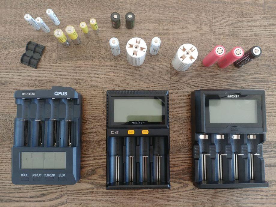 Заряжаем АА, ААА и другое цилиндрическое и аккумуляторное - 1