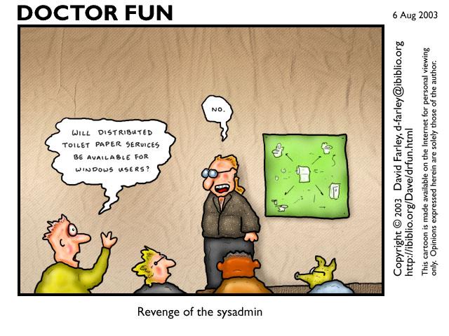 Комиксы о сисадминах: вся жизнь пронеслась перед глазами - 10