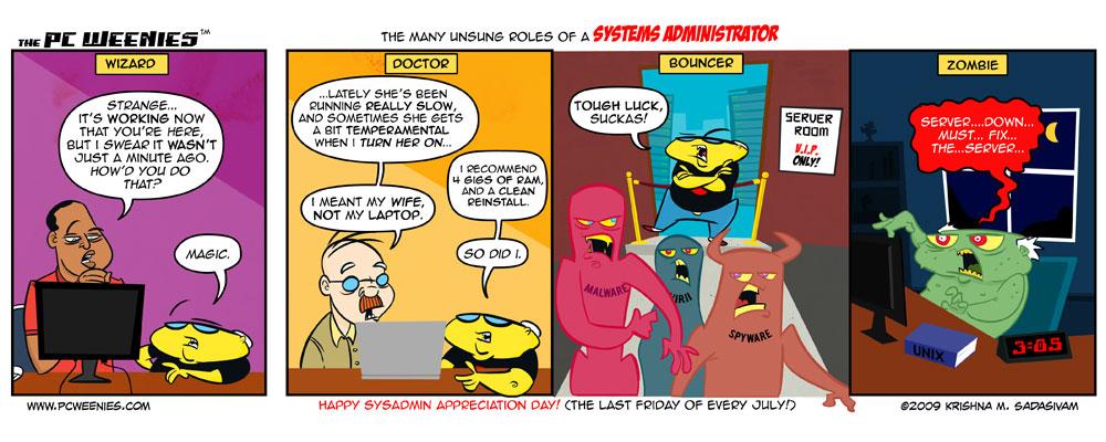 Комиксы о сисадминах: вся жизнь пронеслась перед глазами - 14
