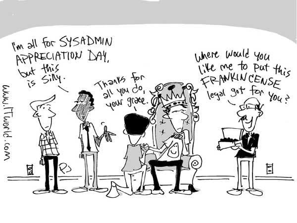 Комиксы о сисадминах: вся жизнь пронеслась перед глазами - 28