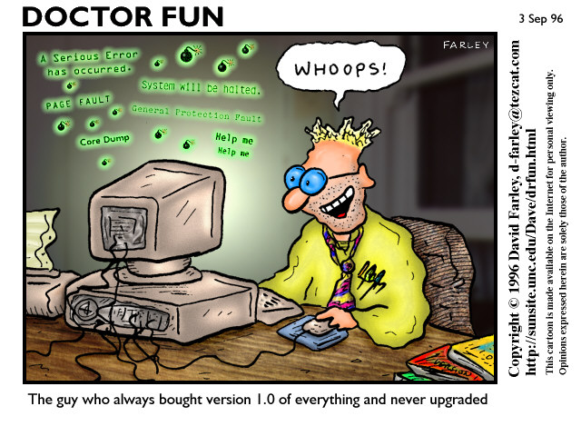 Комиксы о сисадминах: вся жизнь пронеслась перед глазами - 3
