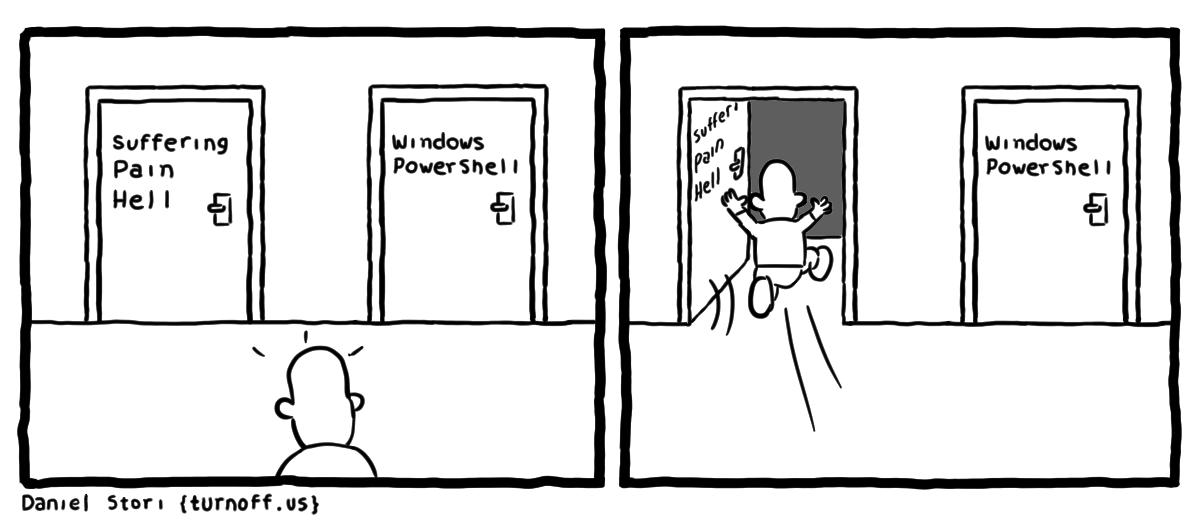 Комиксы о сисадминах: вся жизнь пронеслась перед глазами - 44