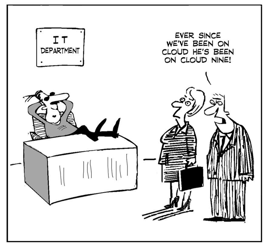 Комиксы о сисадминах: вся жизнь пронеслась перед глазами - 48