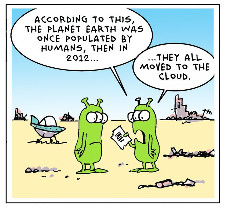 Комиксы о сисадминах: вся жизнь пронеслась перед глазами - 49