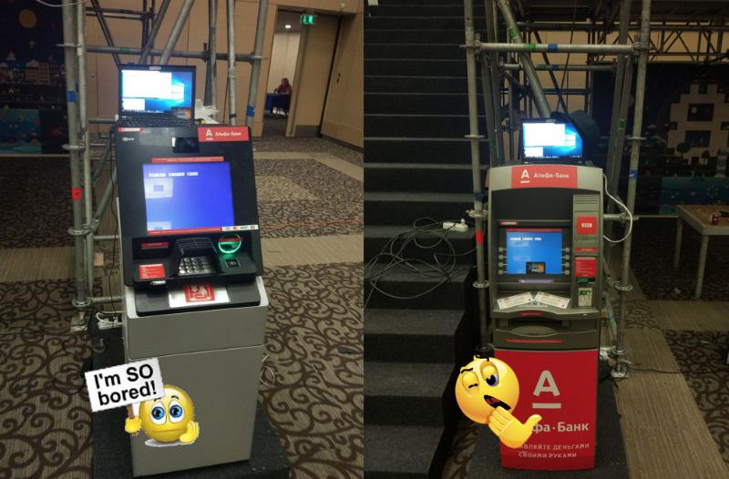 Разбор конкурса Leave ATM Alone на PHDays 8 - 2