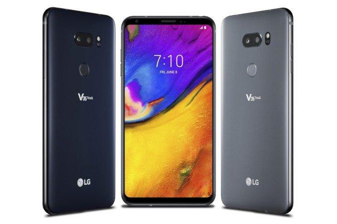 Смартфон LG V35 ThinQ — очередная вариация на тему V30, но теперь с SoC Snapdragon 845