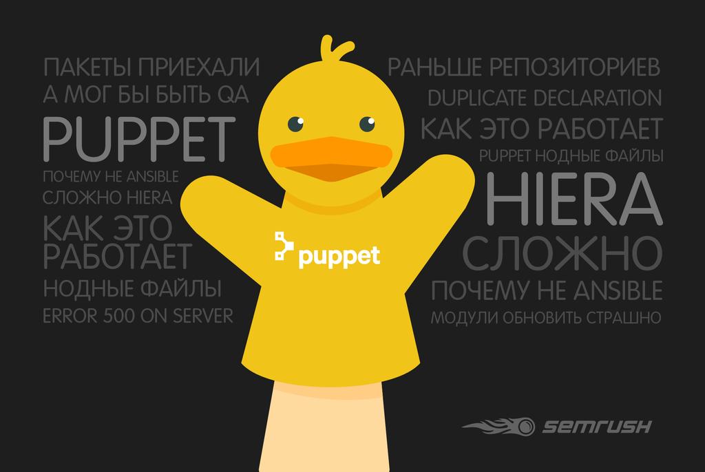 Puppet+Hiera. Выжимаем максимум - 1