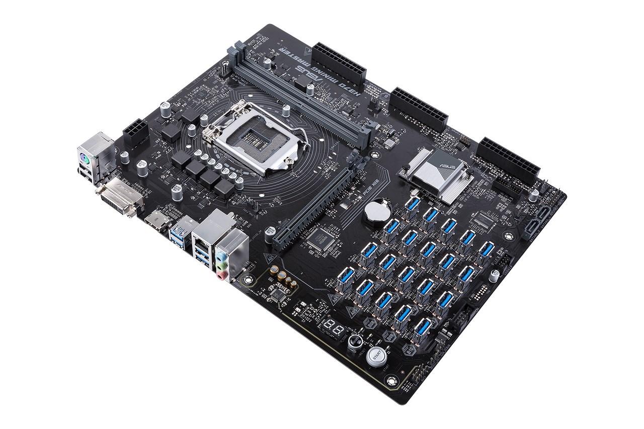 Компания ASUS презентовала новую материнскую плату для GPU-майнинга - 1
