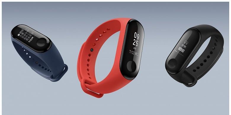 Представлен трекер активности Xiaomi Mi Band 3 стоимостью 26 долларов
