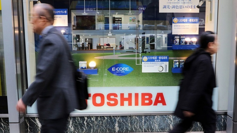 Производство флэш-памяти Toshiba продано