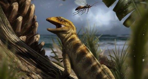 Найден древнейший родственник змей и ящериц