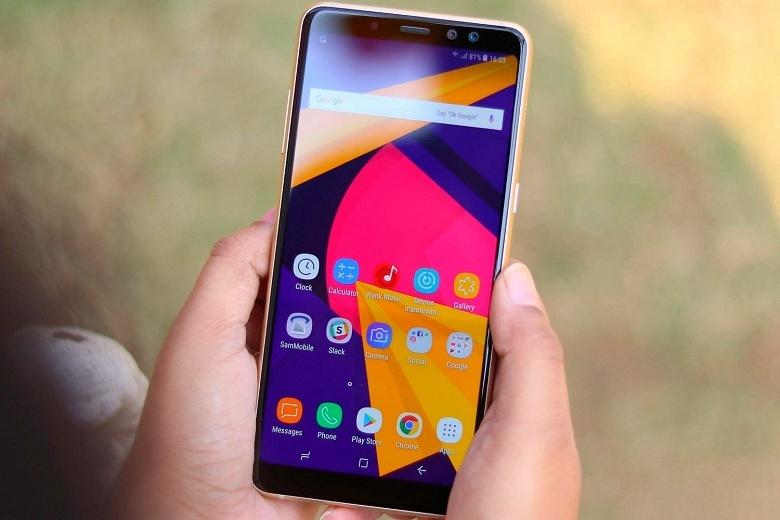У смартфонов Samsung Galaxy A8 (2018) наблюдаются проблемы со звуком