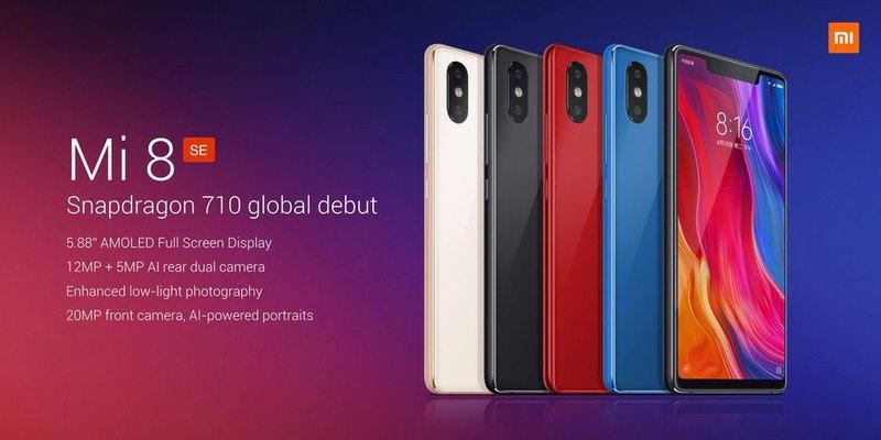 Xiaomi презентовала новый флагманский смартфон Mi 8