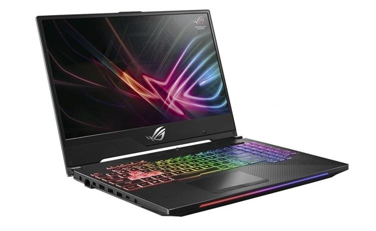 Экран игрового ноутбука ASUS ROG GL504 обладает частотой обновления 144 Гц