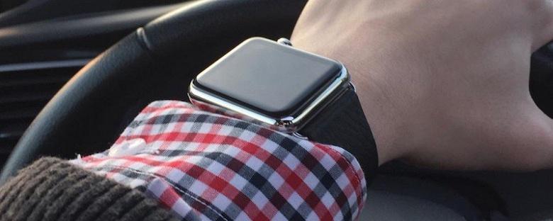 В Канаде водителя оштрафовали за использование часов Apple Watch