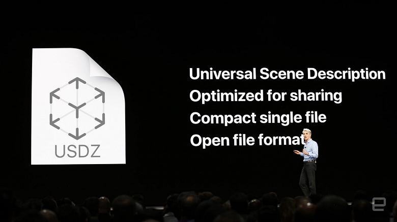 Apple совместно с Pixar разработали открытый формат для файлов дополненной реальности