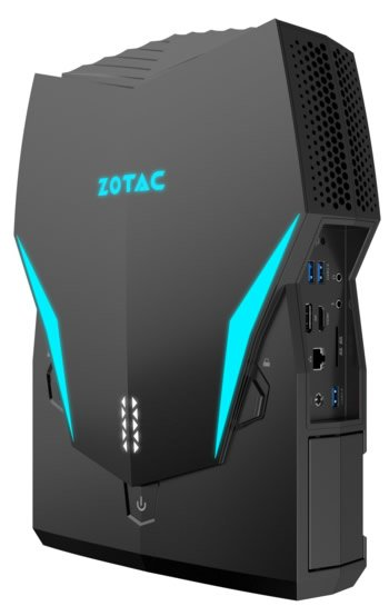 Zotac покажет на Computex 2018 ранцевый компьютер VR GO 2.0