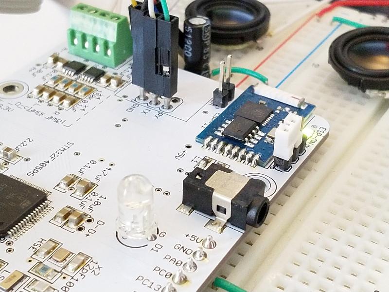 Отладочная плата STM32F4 в форм-факторе Raspberry Pi - 12