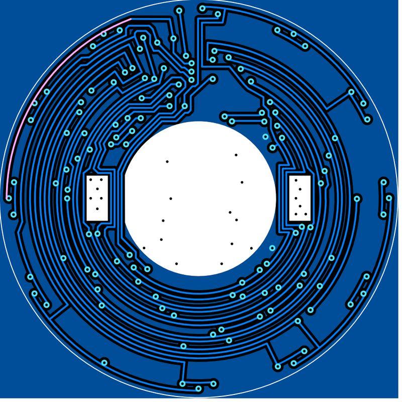 Стрелочные LED-часы для обучения пайке SMD компонентов - 3