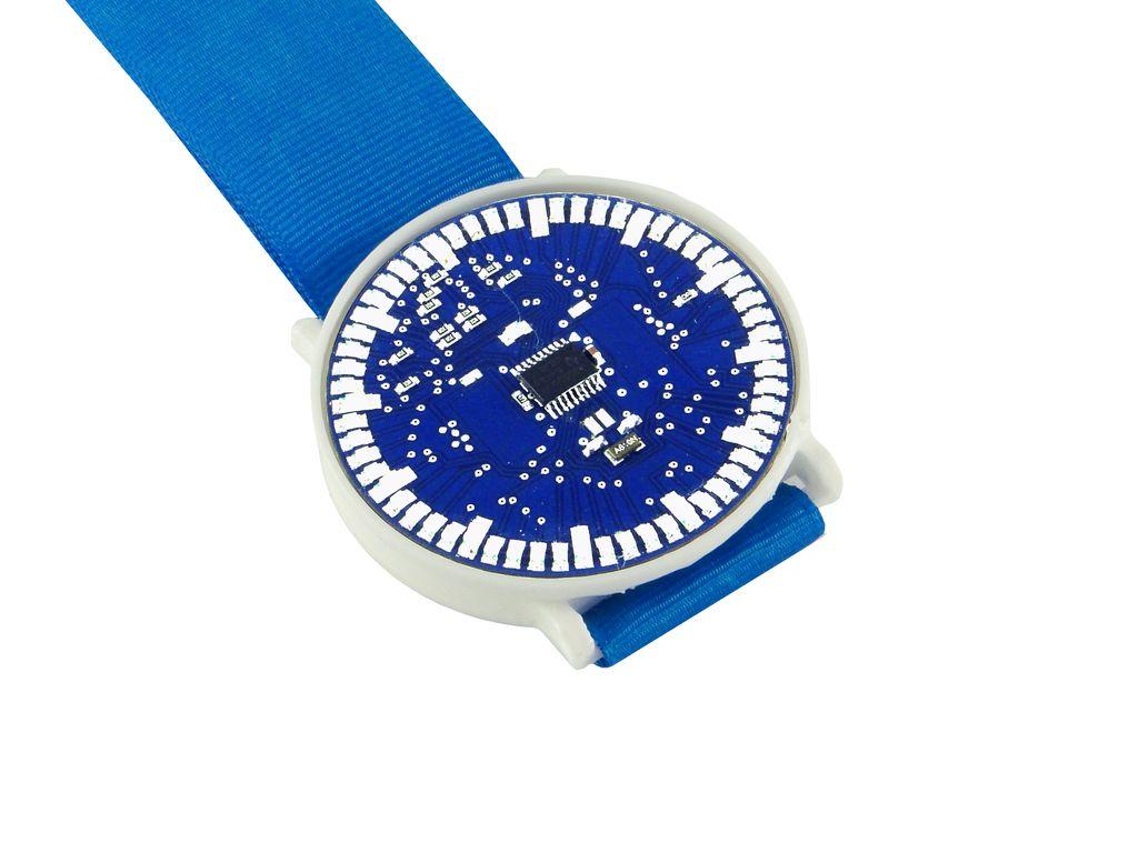 Стрелочные LED-часы для обучения пайке SMD компонентов - 6