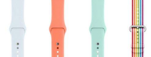 Apple предложила свежие цвета чехлов для новых iPhone и ремешков для Apple Watch Sport