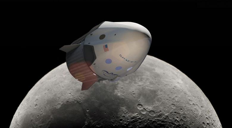SpaceX отложила свой первый коммерческий полёт вокруг Луны на неопределённый срок