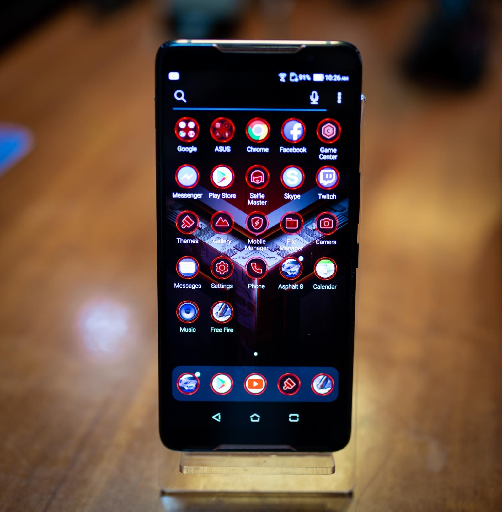 Первый взгляд на геймерский смартфон ASUS ROG Phone - 4