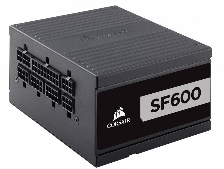 Блоки питания Corsair SF имеют сертификат 80 Plus Platinum