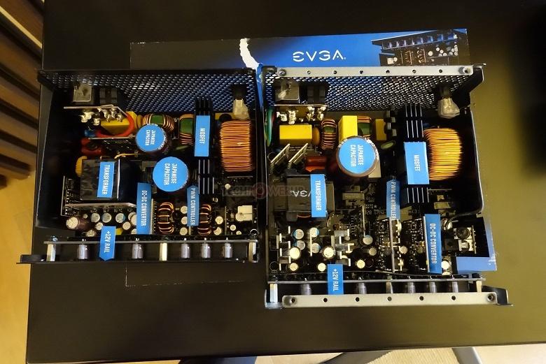 EVGA Super G7 1000 — самый компактный блок питания мощностью 1000 Вт