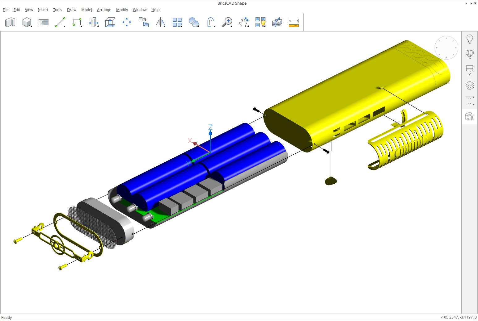 BricsCAD Shape — бесплатная 3D САПР от Bricsys - 1