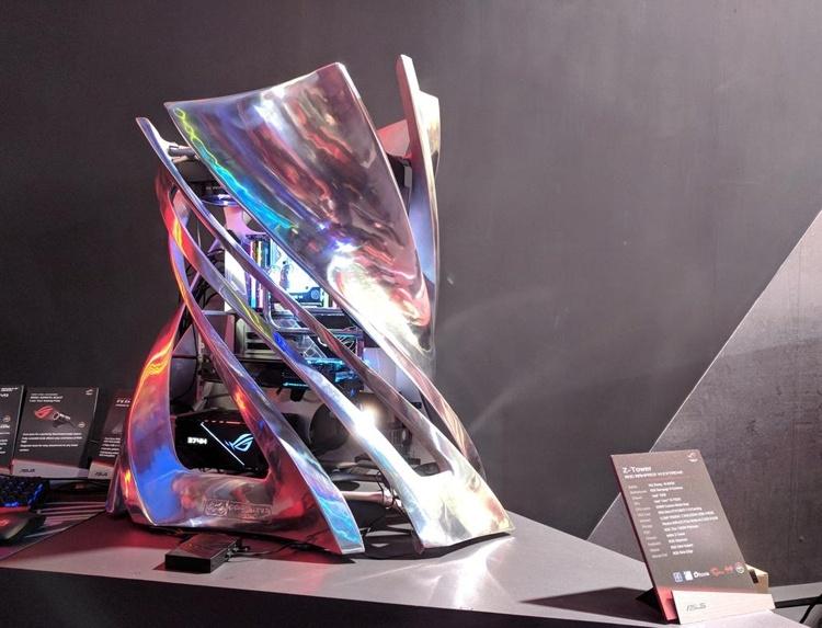 Computex 2018: корпус-скульптура In Win Z-Tower весит 40 килограммов