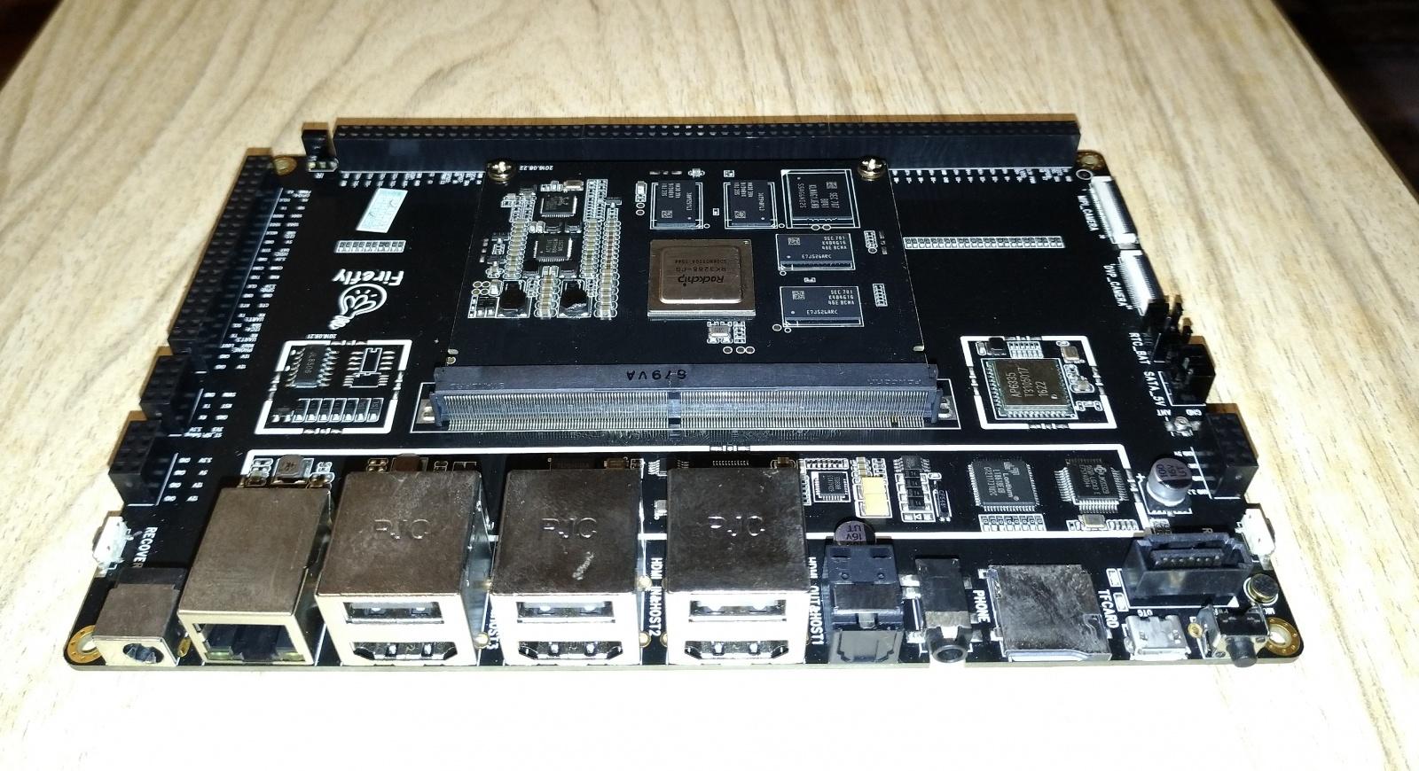 Использование платы Firefly-RK3288 Reload с SoC RockChip RK3288. Цифровой I2C термодатчик Microchip — MCP9808 - 2