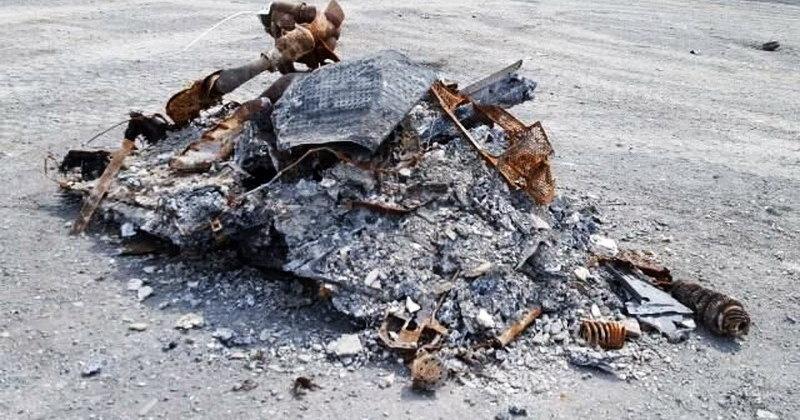 На продажу выставили гору пепла (которая когда-то была «Фордом»)