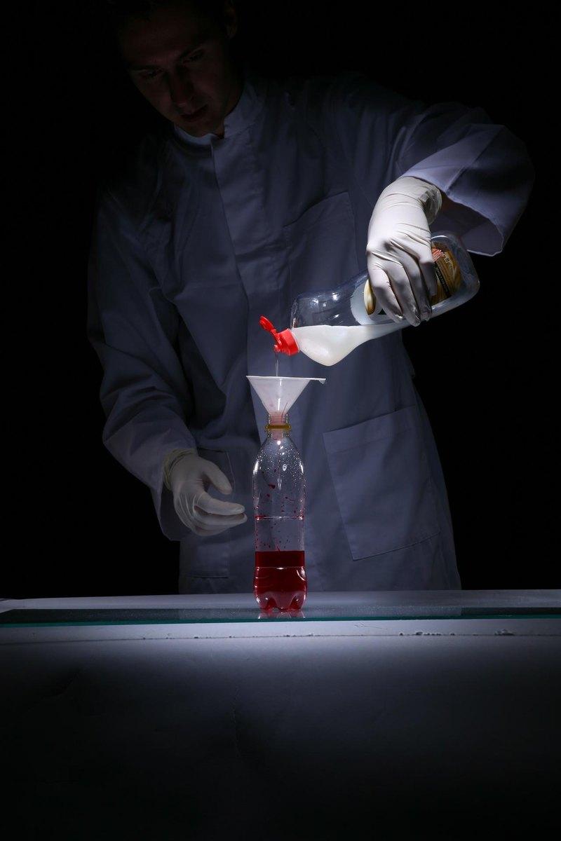 Опыты с перекисью водорода