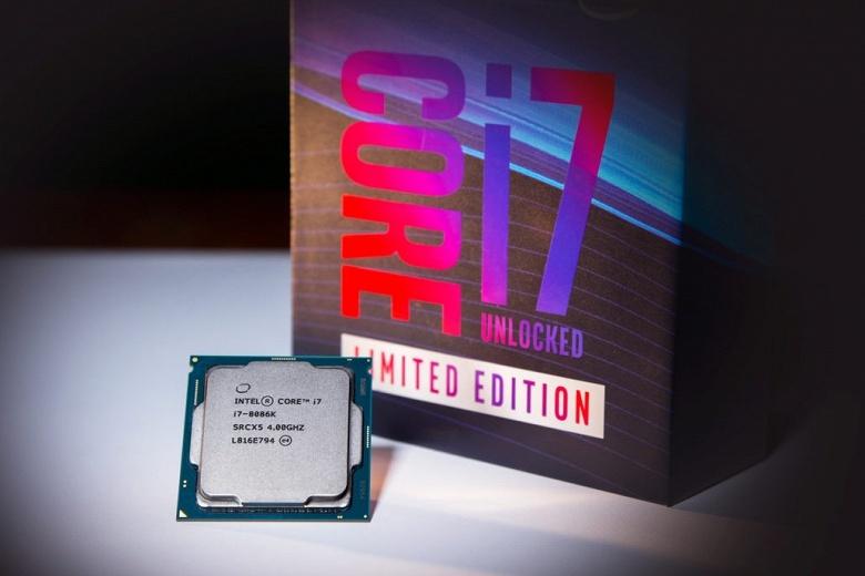 Скальпированный Intel Core i7-8086K разогнали до 7,24 ГГц на всех ядрах