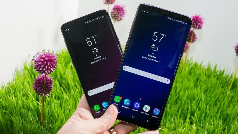 Смартфоны Samsung Galaxy S9 и S9 Plus стали самыми продаваемыми в мире, обойдя iPhone X