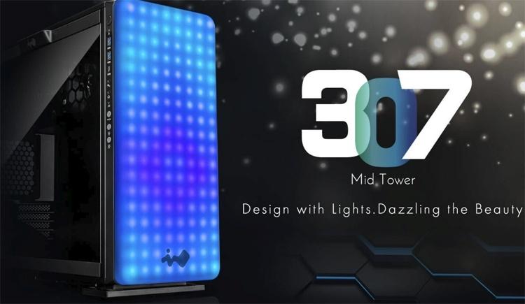 Computex 2018: лицевая панель корпуса In Win 307 превращена в «пиксельный дисплей»