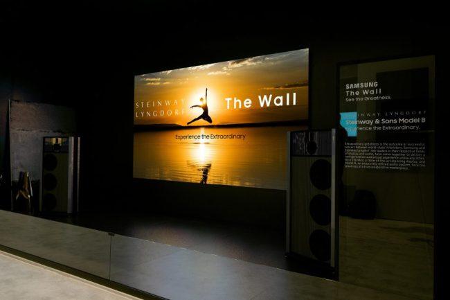 Модульный телевизор Samsung The Wall получит премиальную аудиосистему Steinway Lyngdorf