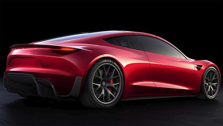 Пакет опций SpaceX превратит спорткар Tesla Roadster в «ракету»